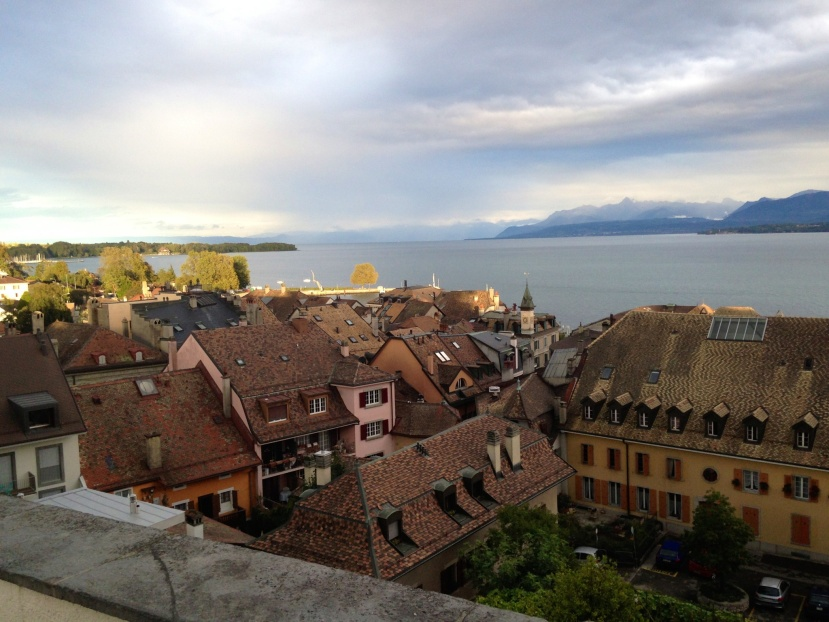 A Swiss Summer's Day in Fall..Farmers Markets… and FOOD